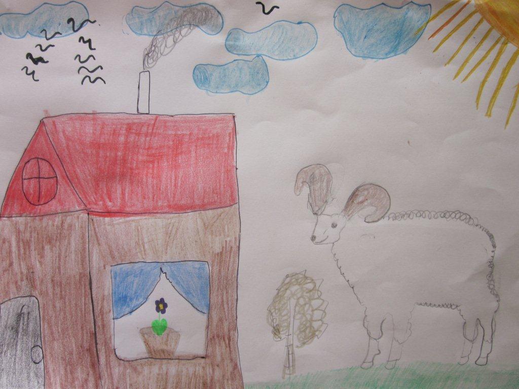 Stier und Ziege